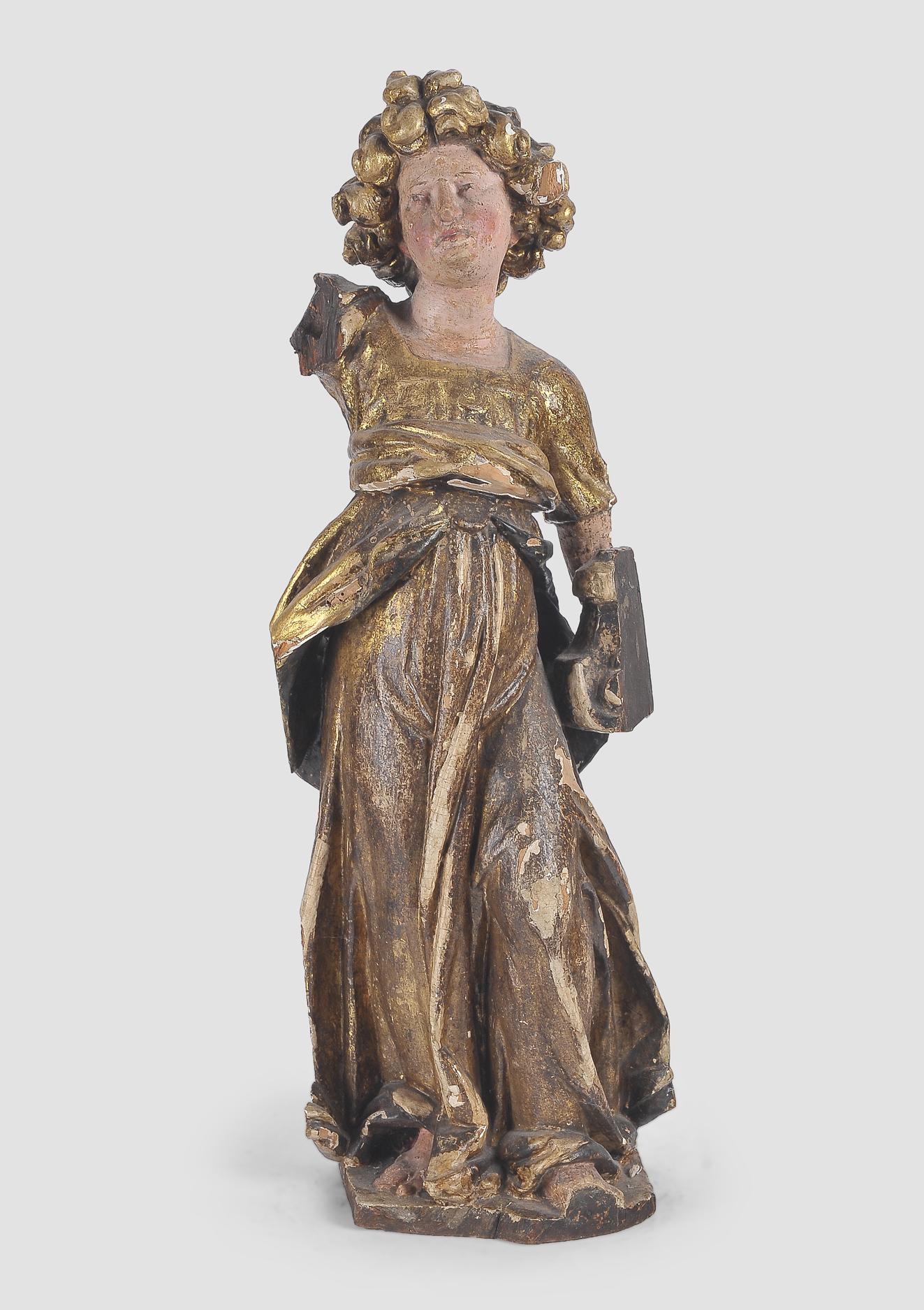 Stehender Engel, Süddeutsch, 17. Jahrhundert