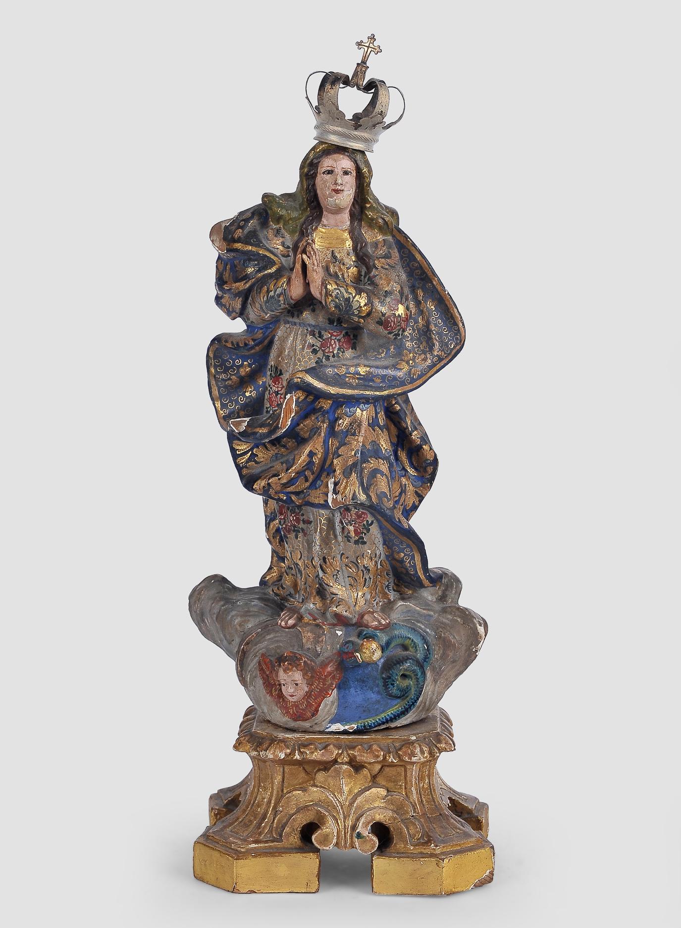 Maria Immaculata, Spanien, 18. Jahrhundert
