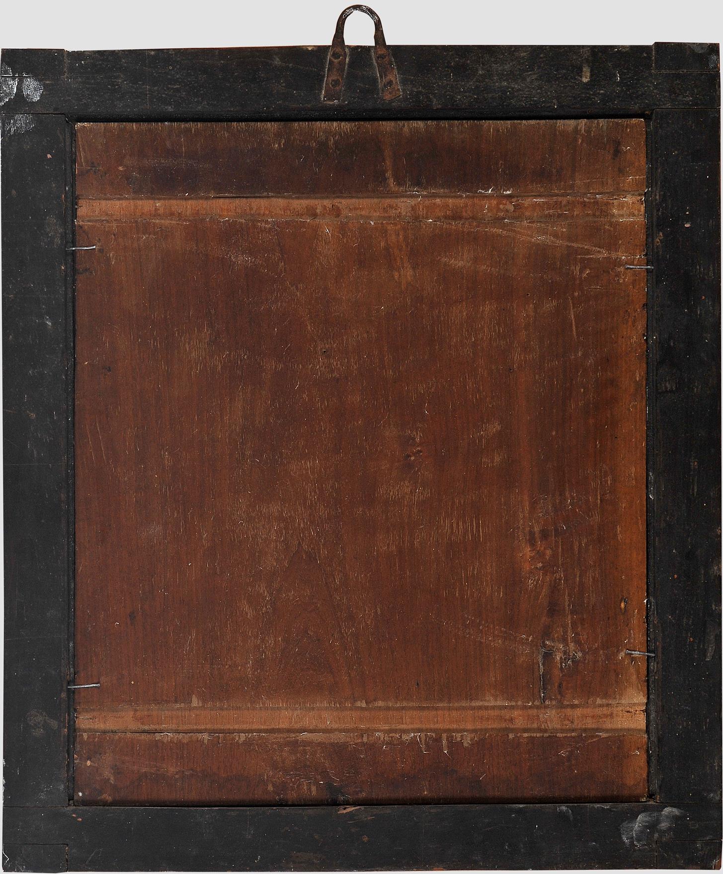 Madonna, Gemälde, 17. Jhdt. - Image 7 of 7