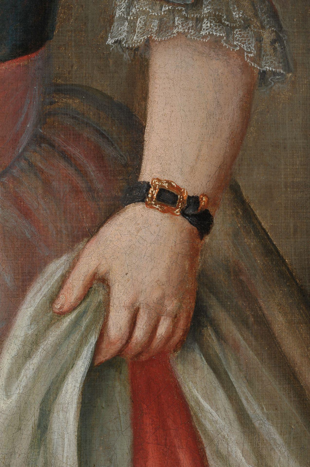 Mädchenbildnis, Österreich um 1750 - Image 5 of 6