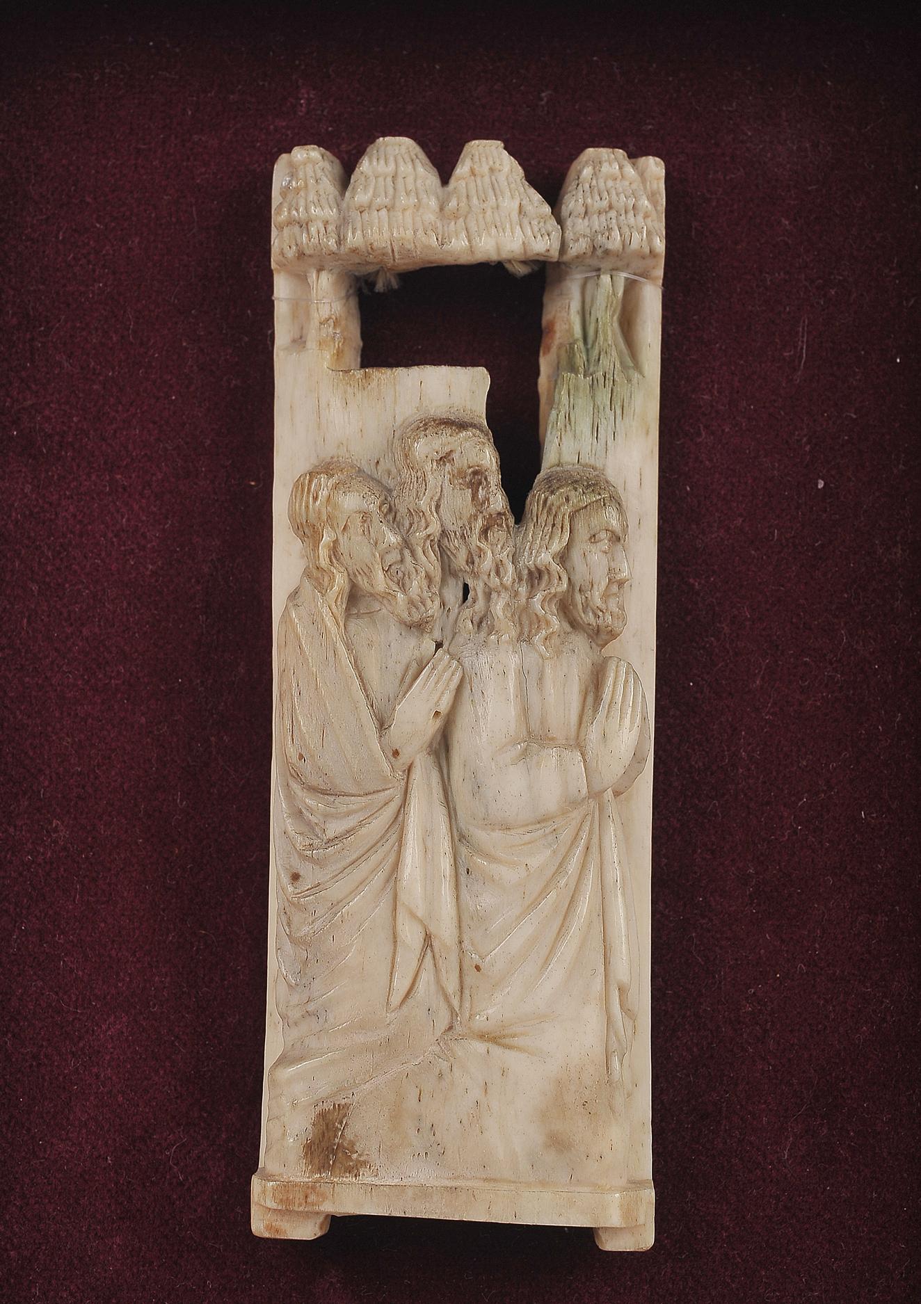 Relief Plakette, Werkstatt der Embriarchi?, um 1400/30