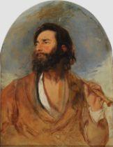 Hans Canon, Wien 1829 – 1885 Wien (zugeschrieben), Der Flötenspieler