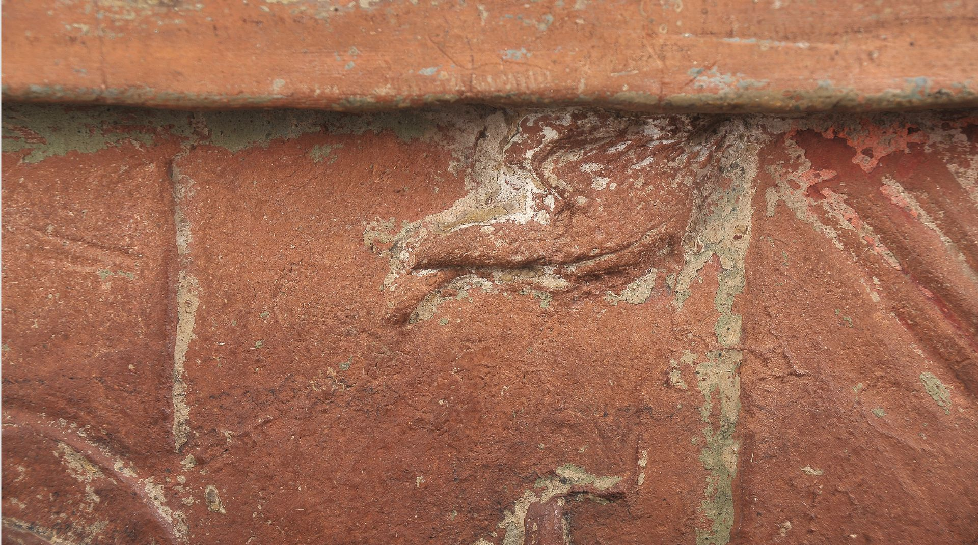 Terracotta Relief, Verkündigung Mariä - Image 4 of 9