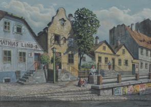 Richard Pokorny, Wien 1907 – 1997 Wien, Wiener Vorstadt