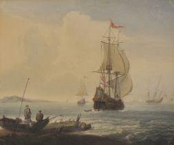 James Wilson Carmichael, England 1800 – 1863, Holländische Segelschiffe