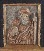 Heiliger Petrus, Holz Relief um 1500/20