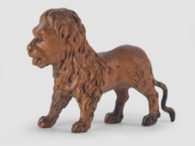 Holz Löwe, Barock, 18. Jahrhundert