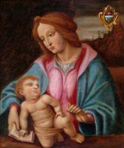 Madonna, Gemälde, 17. Jhdt.