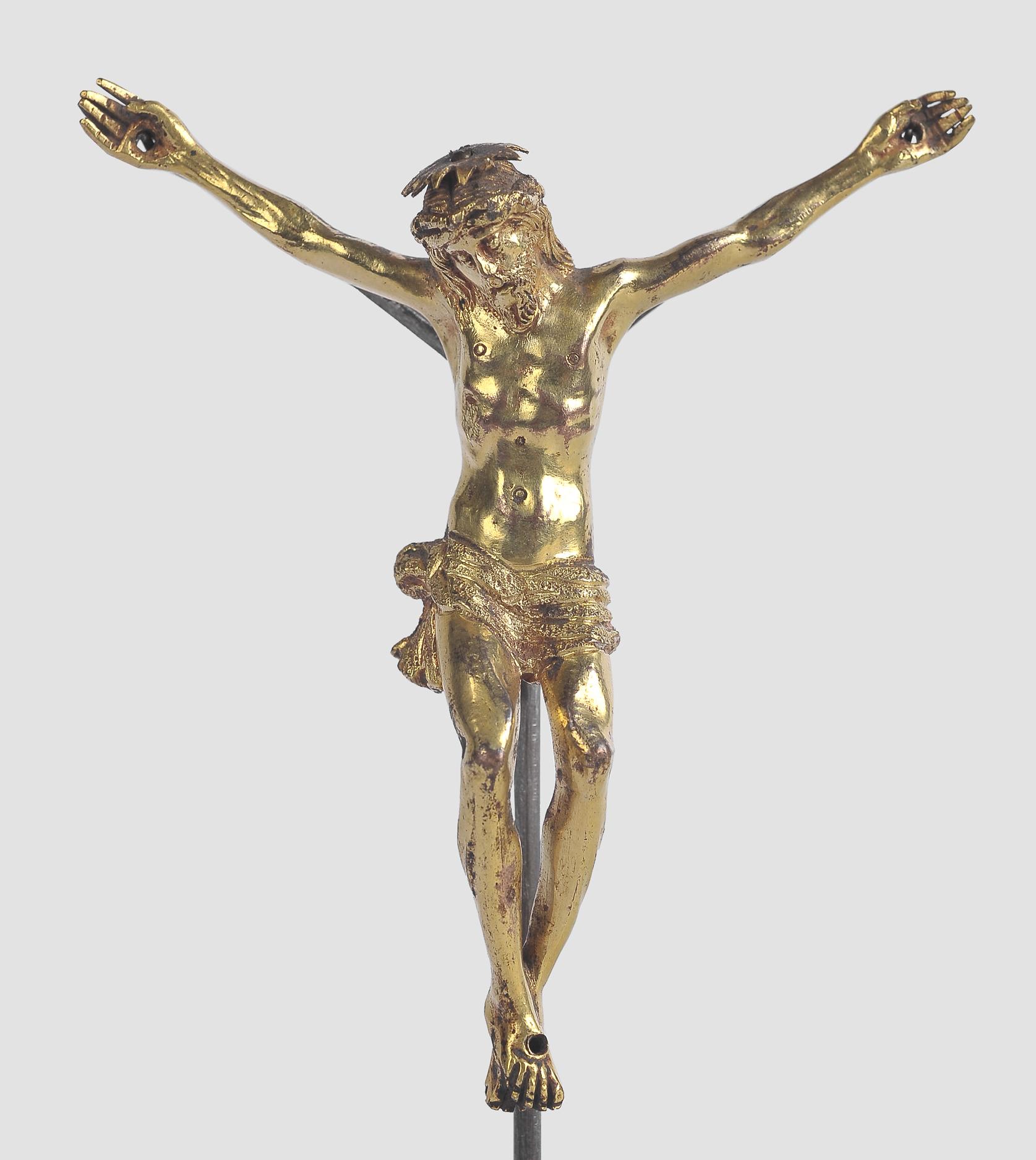 Corpus Christi, Süddeutsch oder Italien, 17. Jahrhundert, Bronze