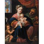 Heilige Familie, Gemälde, 17./18. Jhdt.