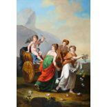 Amor im Streitwagen, Gemälde, Empire um 1790/1810