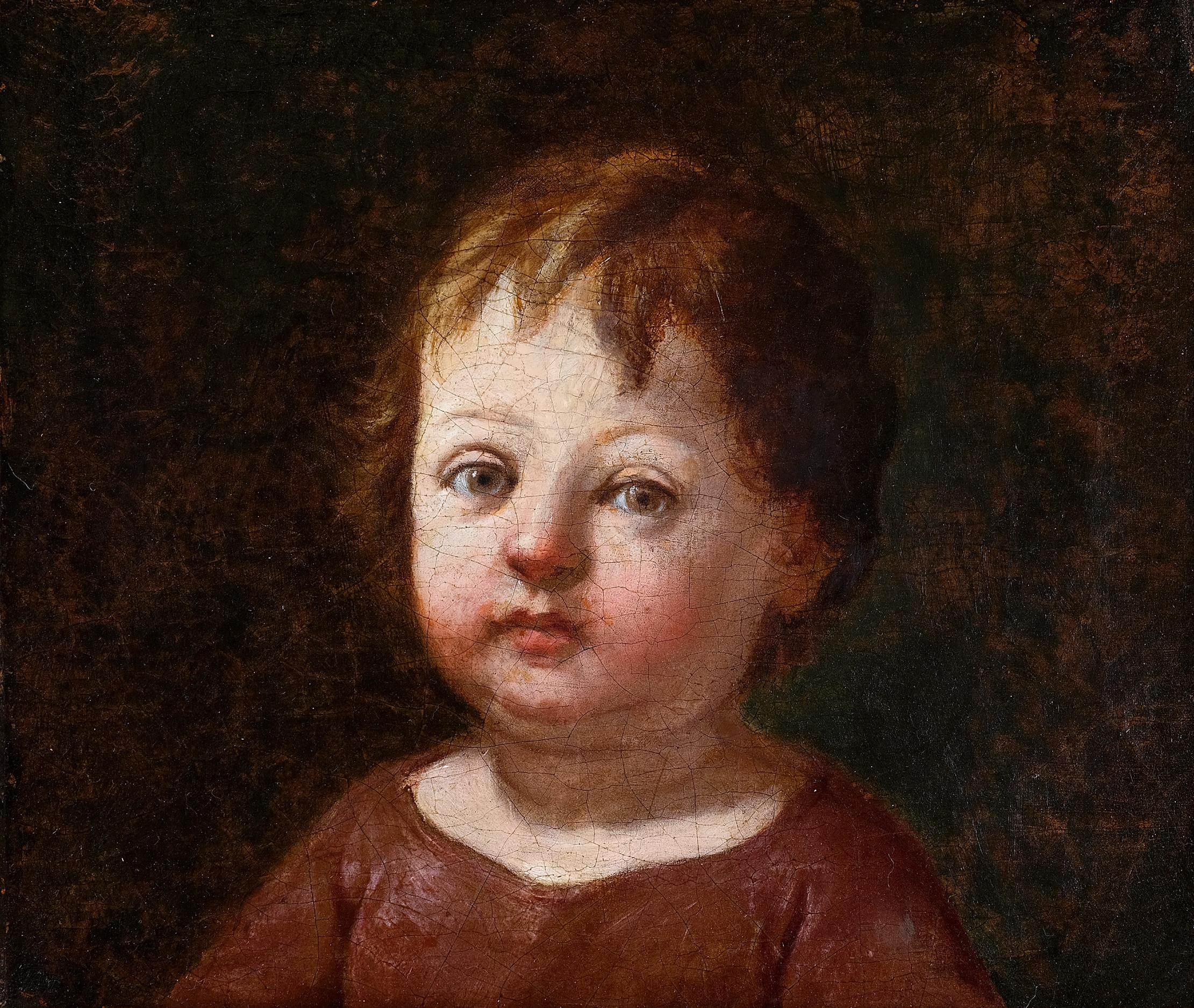 Annibale Carracci, Bologna 1560 – 1609 Rom (zugeschrieben), Portrait eines Knaben
