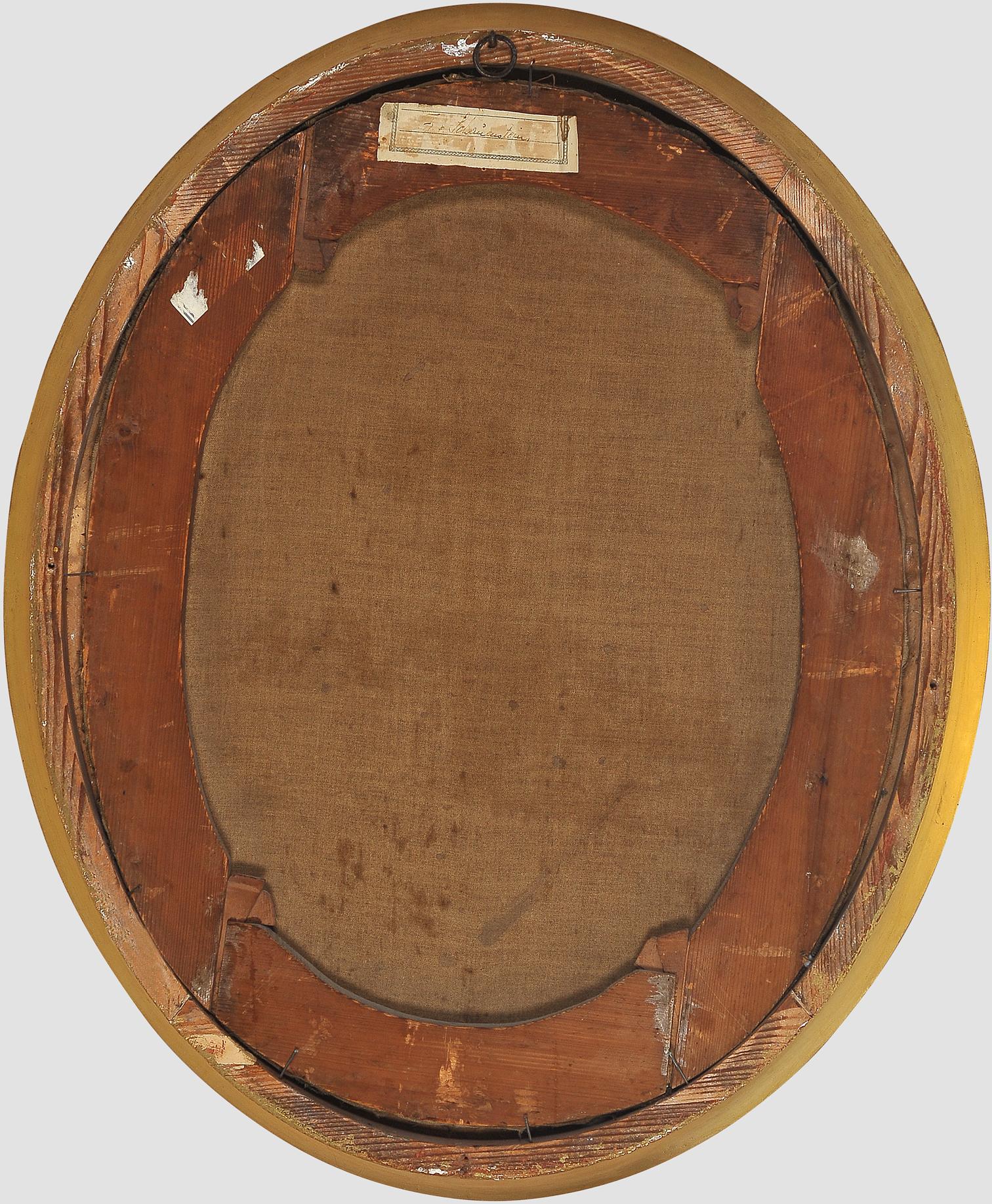 "Nicolas Guy Brenet, Paris 1728 – 1792 Paris, Portraits des Ehepaares ""Von Schauenstein"" - Image 11 of 11"