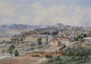 Hugo Darnaut, Dessau 1851 – 1937 Wien, Tüll & Stofffabrik in Lettowitz, Mähren