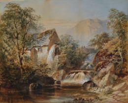 Cornelius Pearson, England 1805 – 1891, Mühle bei Cumberland