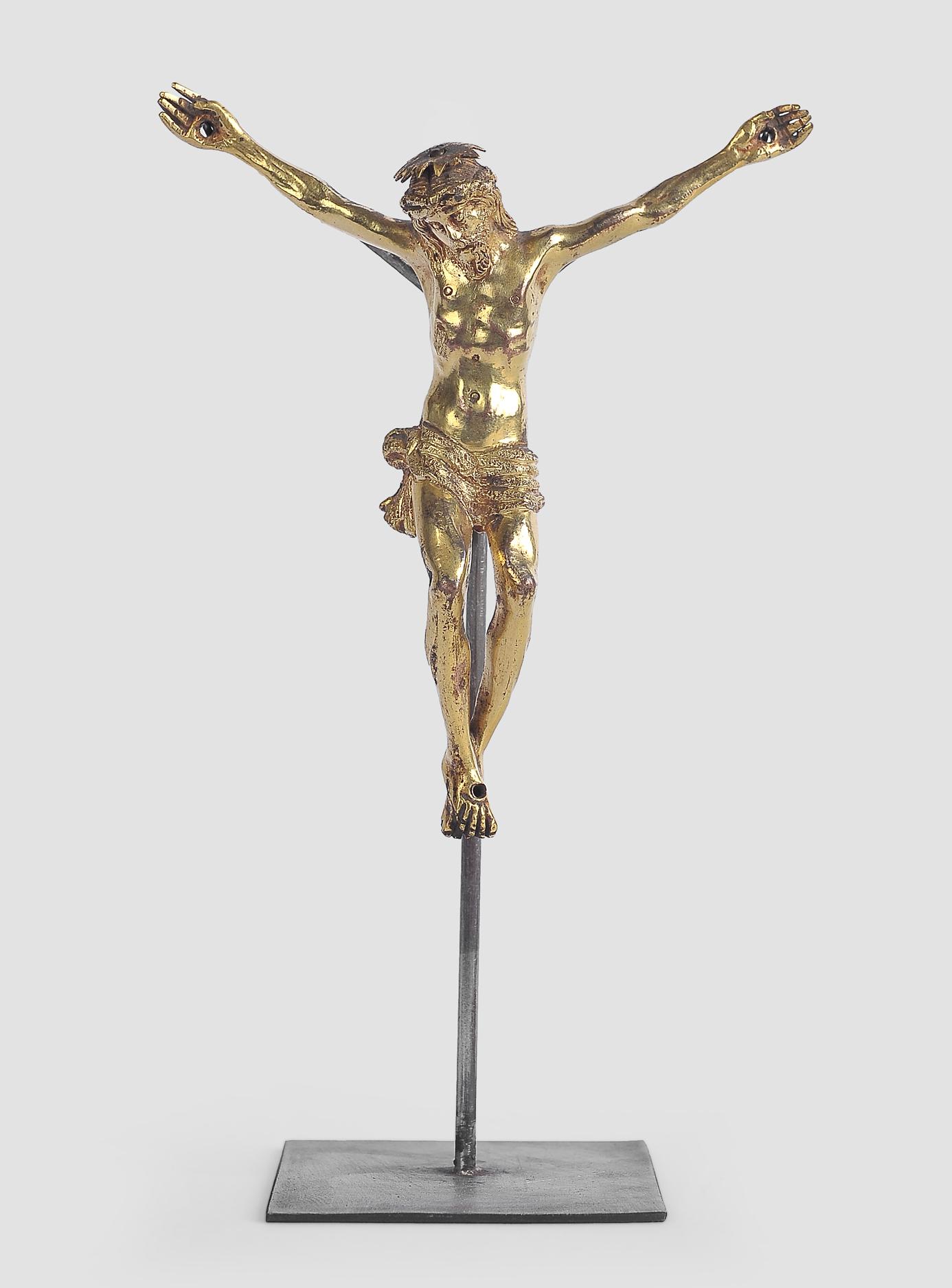 Corpus Christi, Süddeutsch oder Italien, 17. Jahrhundert, Bronze - Image 2 of 5