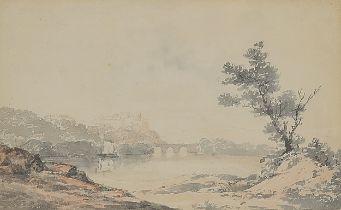 Nicholas Pocock, Brixtal 1740 – 1821 Maidenhead / Berteshire, Südländisches Motiv