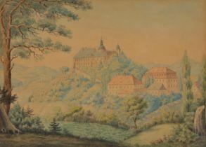 Biedermeier Aquarell, Wien um 1830/40
