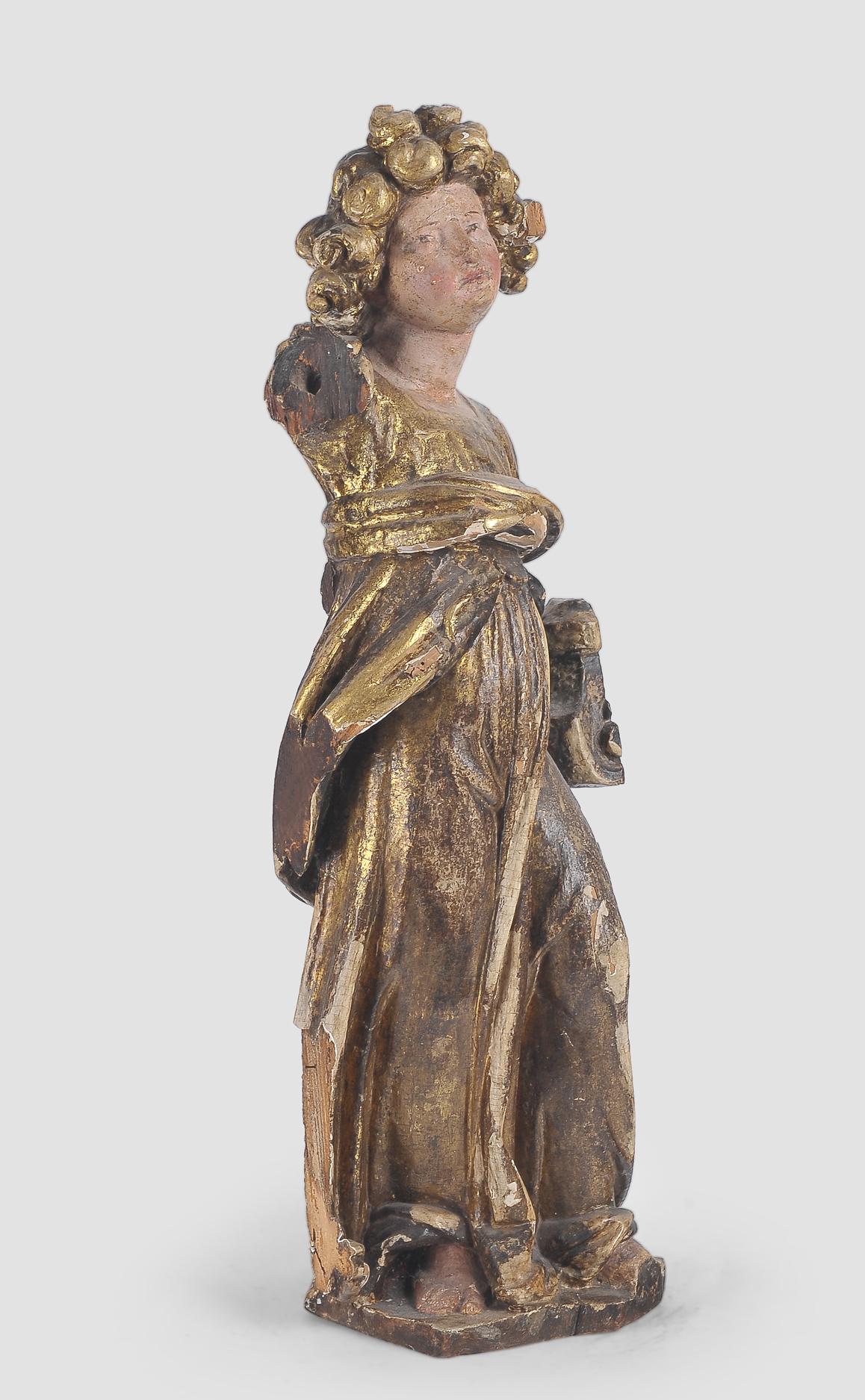 Stehender Engel, Süddeutsch, 17. Jahrhundert - Image 2 of 5