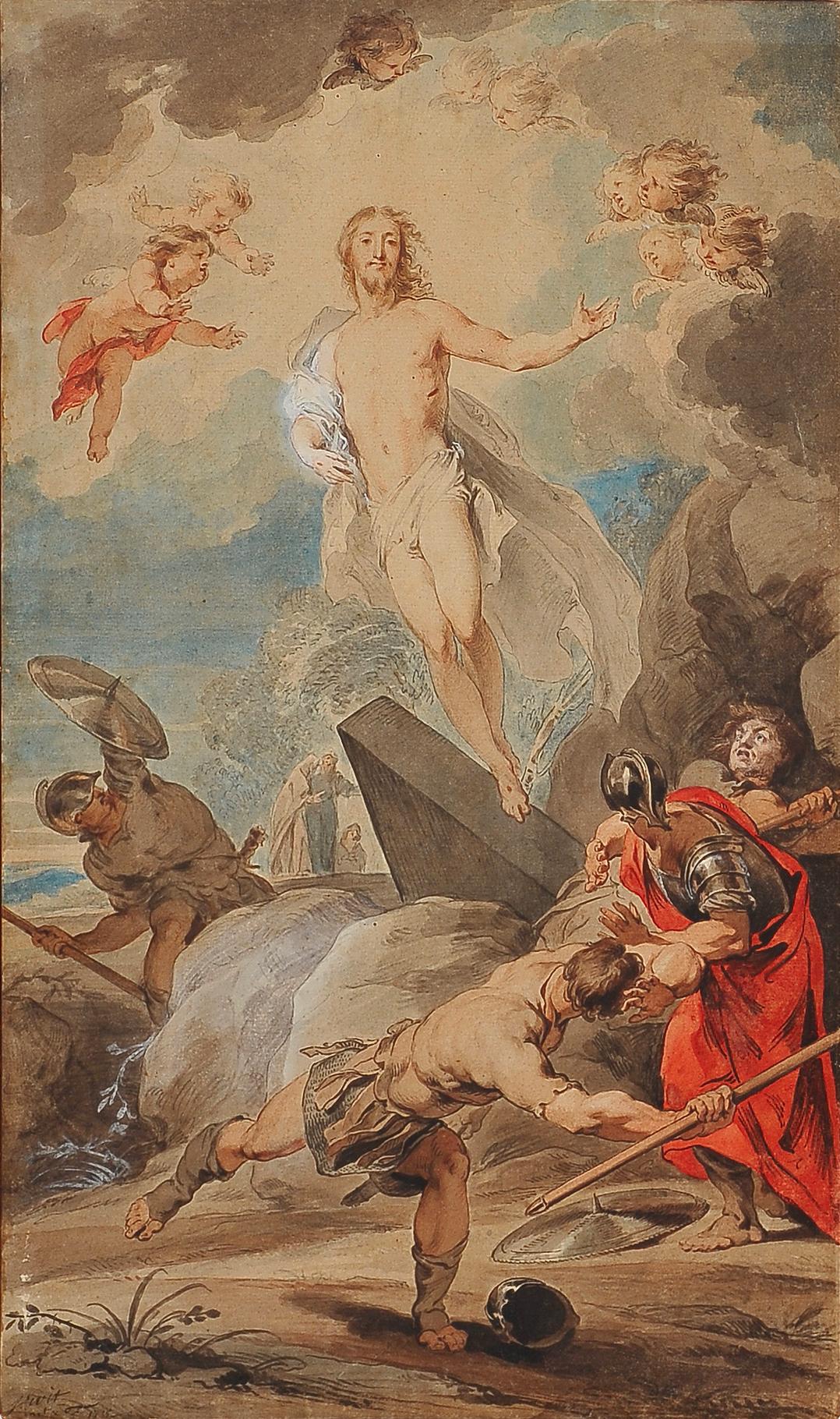 Jakob de Witt, Amsterdam 1695 - 1754, Auferstehung