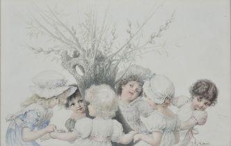 Raimund von Wichera, Frenstadt 1862 – 1925 Wien, Mädchen