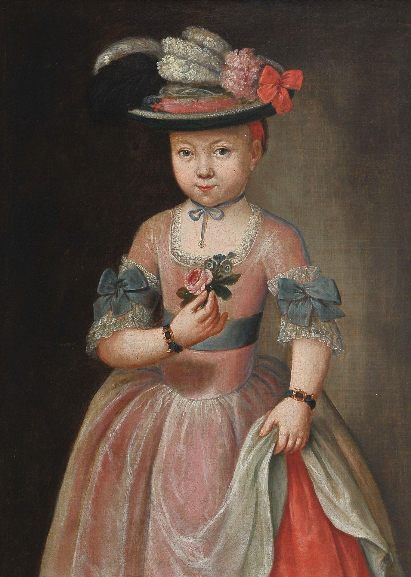 Mädchenbildnis, Österreich um 1750