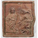 Terracotta Relief, Verkündigung Mariä