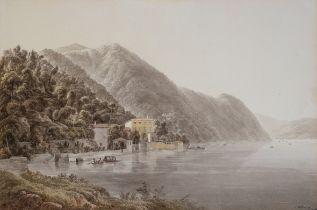 Joseph Rebell, Wien 1787 – 1828 Dresden, Villa am Lago di Como