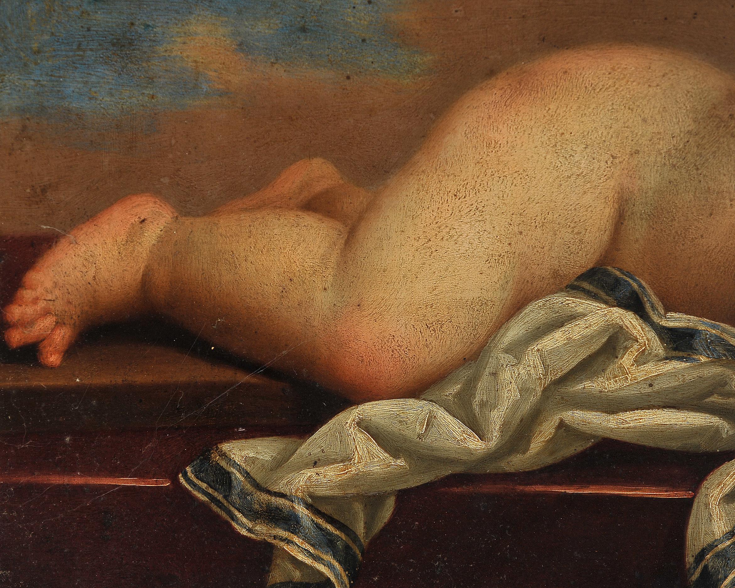 Memento Mori, Gemälde, 17./18. Jhdt. - Image 4 of 6