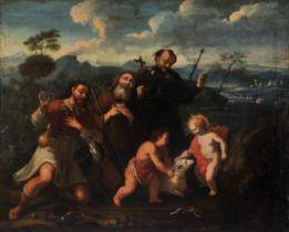 Pilgerheilige, Gemälde, Italien 17./18. Jhdt.