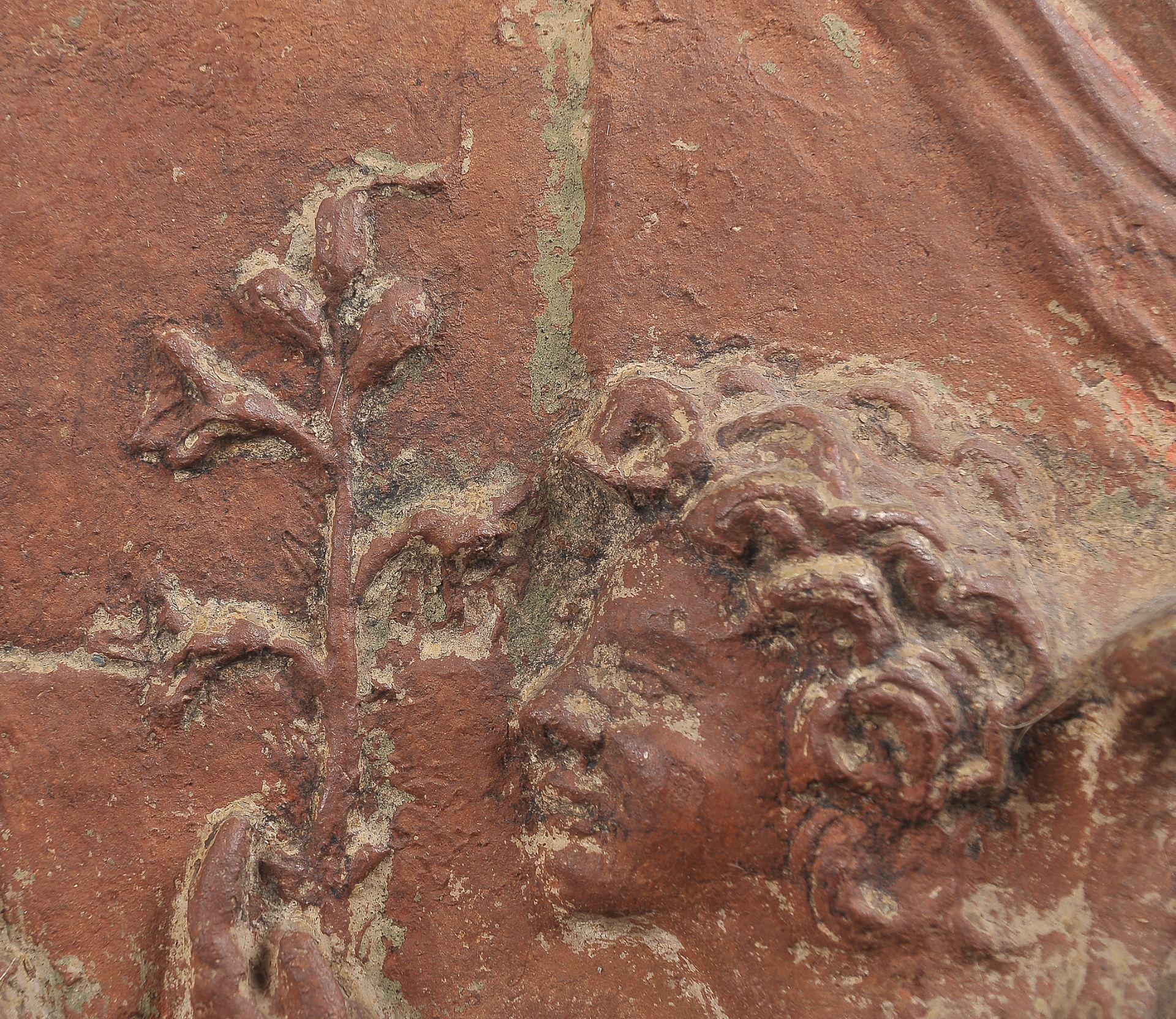 Terracotta Relief, Verkündigung Mariä - Image 7 of 9