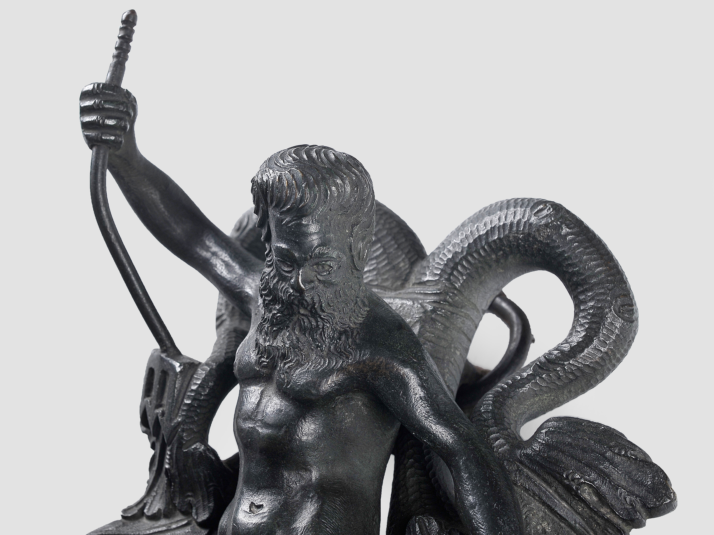 Türklopfer, Renaissancetypus, Bronze - Image 4 of 5
