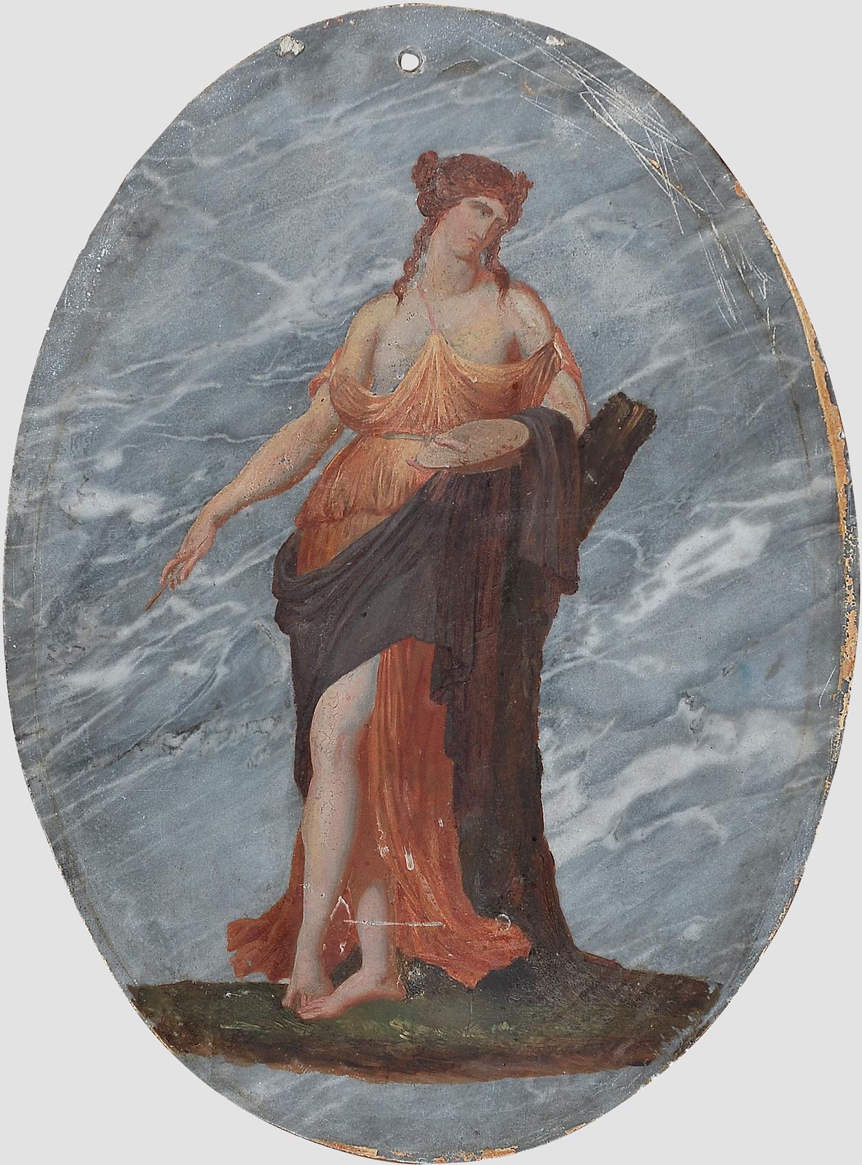 Allegorie der Malerei und Bildhauerei, Huldigung an die Künste der Malerei & Bildhauerei - Image 3 of 5