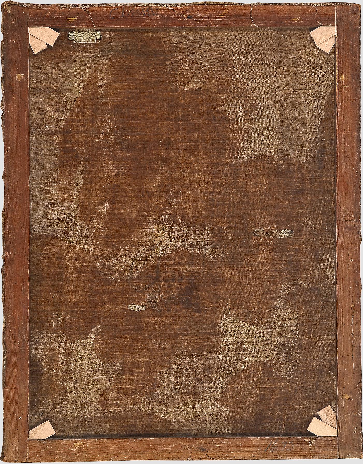 Ignaz Stern, detto Stella, Mauerkirchen 1679 – 1748 Rom (zug.), Anna die Maria das Lesen lehrt - Image 6 of 6