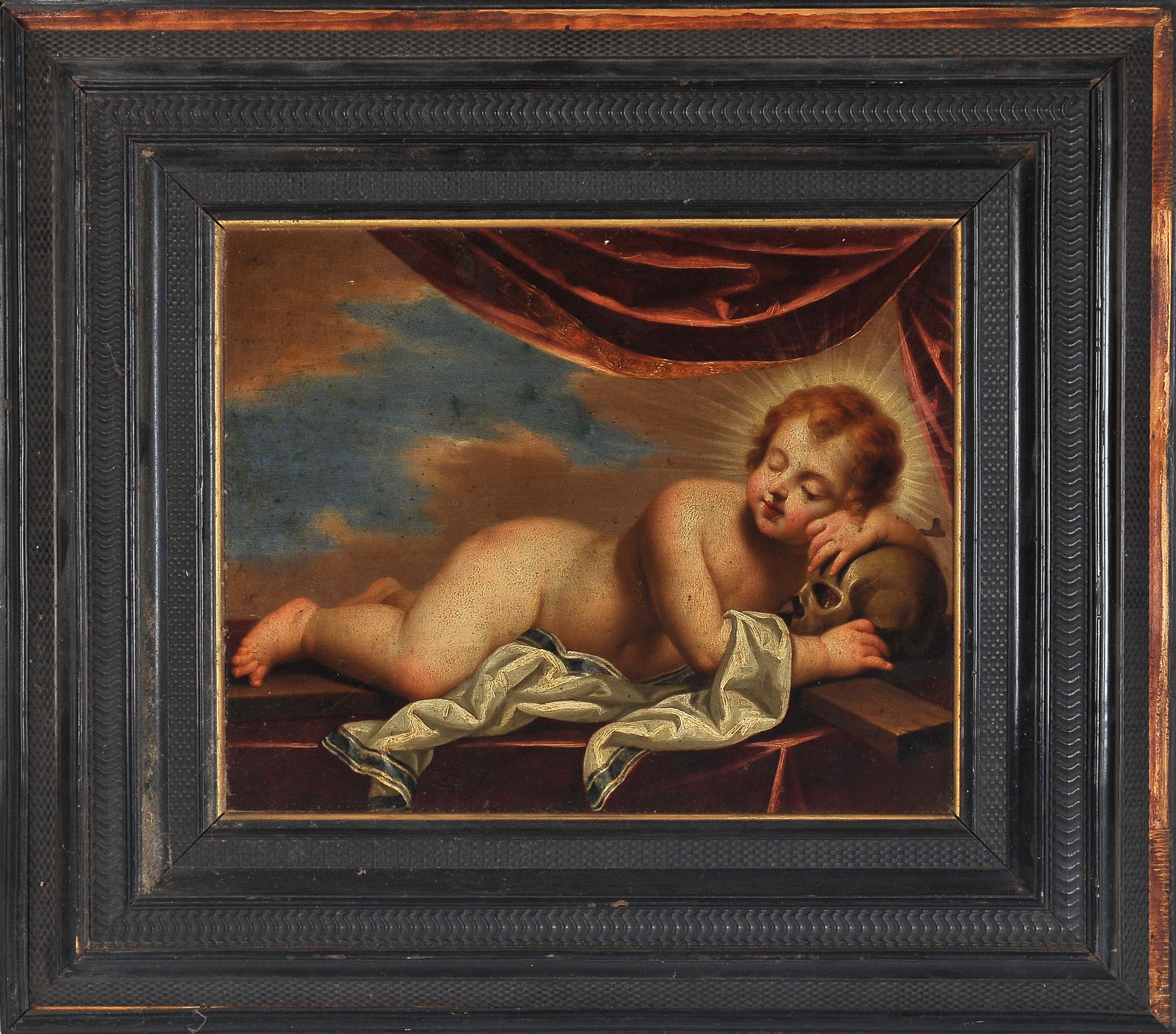 Memento Mori, Gemälde, 17./18. Jhdt. - Image 2 of 6