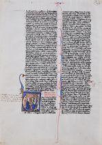 Buchmalerei, Illumination, um 1250