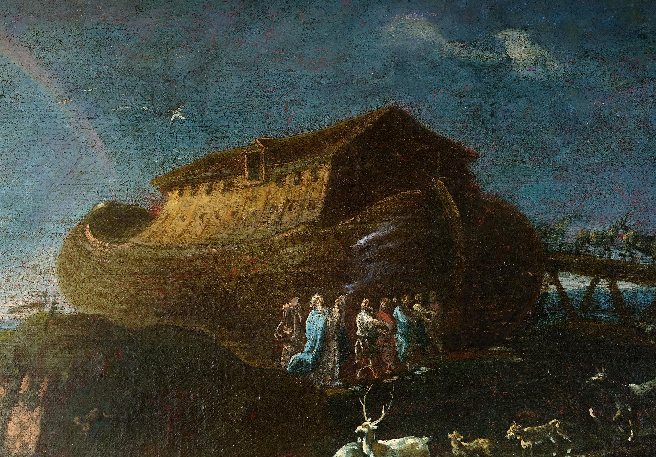 Cajetan Roos, detto Gaetano de Rosa, Rom 1690 – 1770 Wien, Arche Noah - Image 3 of 7
