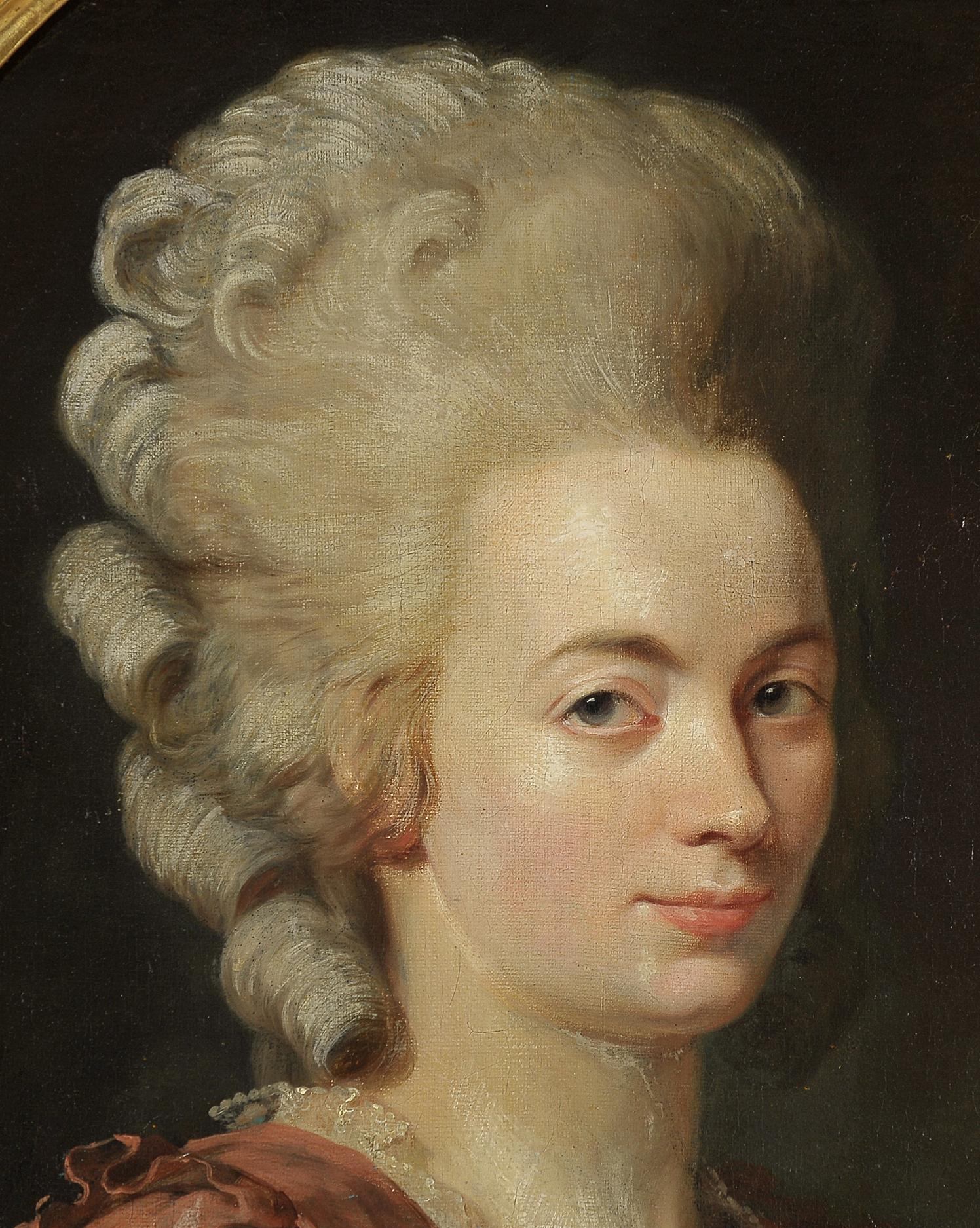 "Nicolas Guy Brenet, Paris 1728 – 1792 Paris, Portraits des Ehepaares ""Von Schauenstein"" - Image 10 of 11"