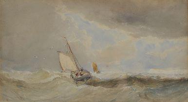 Edvard Tucker, England 1830 – 1909 England, Marine / Seestück