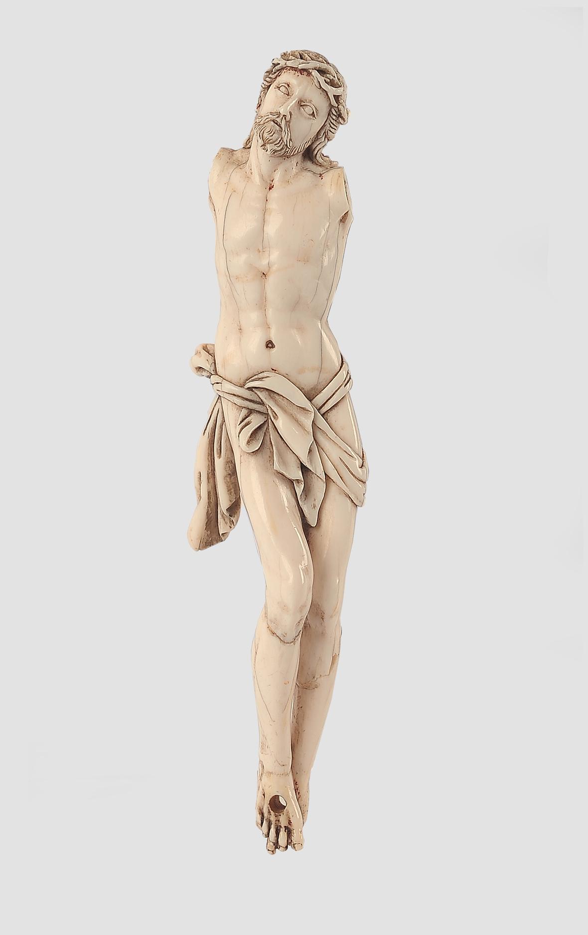 Corpus Christi, 18. Jahrhundert, Elfenbein