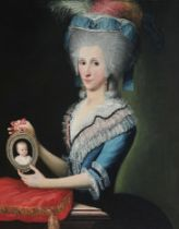 Adeliges Portraitgemälde, Italien oder Donaumonarchie