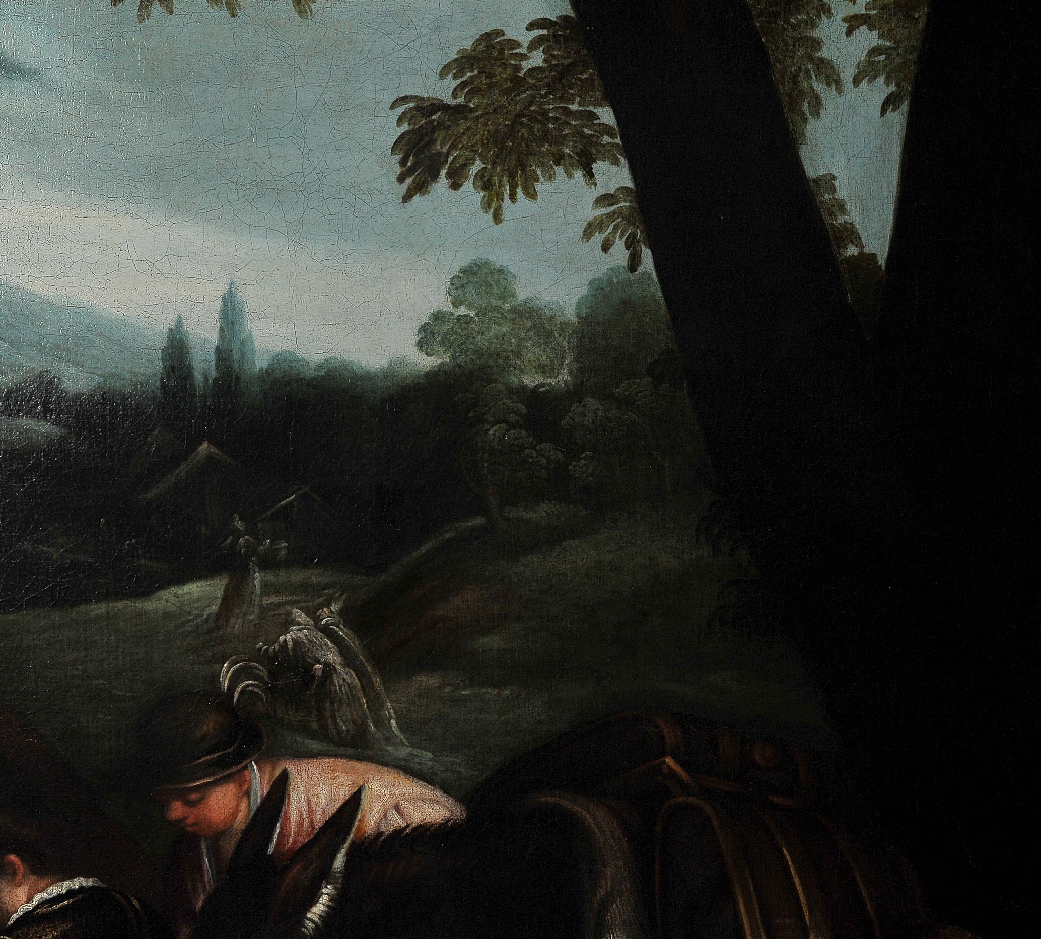 Leandro Bassano, Bassano del Grappa 1575 – 1622 Venedig (Werkstatt), Tiere an der Tränke - Image 10 of 11