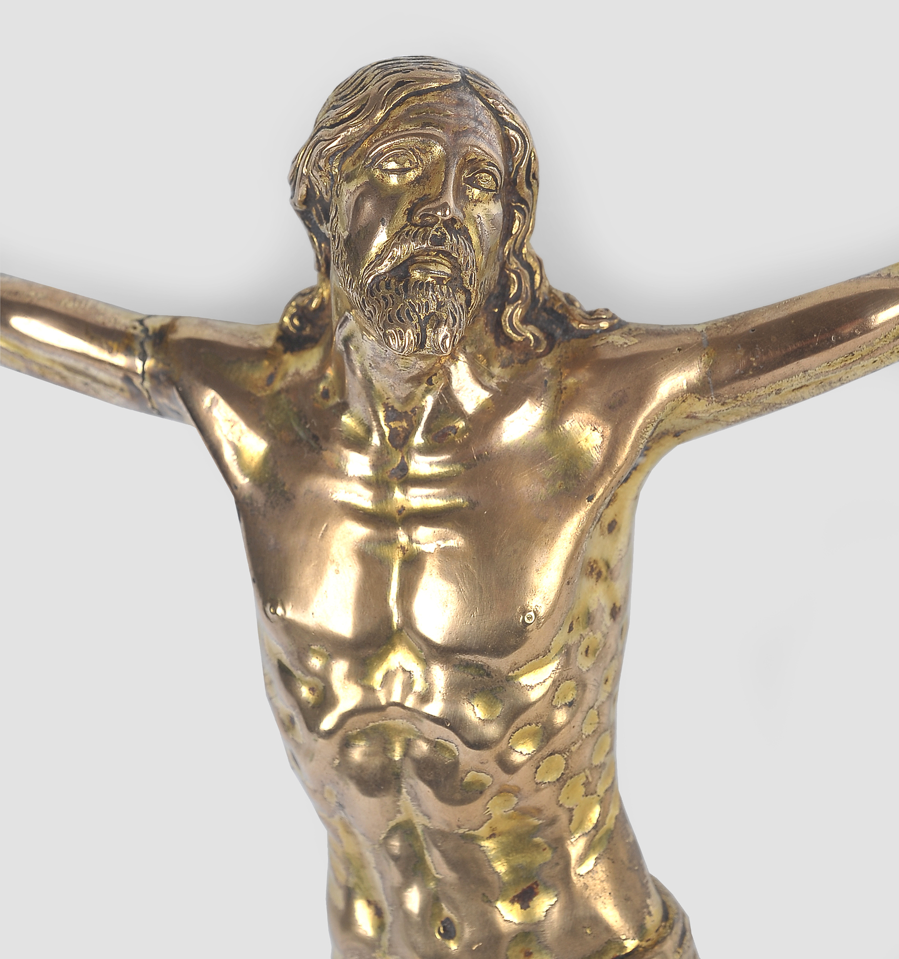 Corpus Christi, Savero da Ravenna 1496-1538 (Umkreis), Bronze - Image 3 of 9