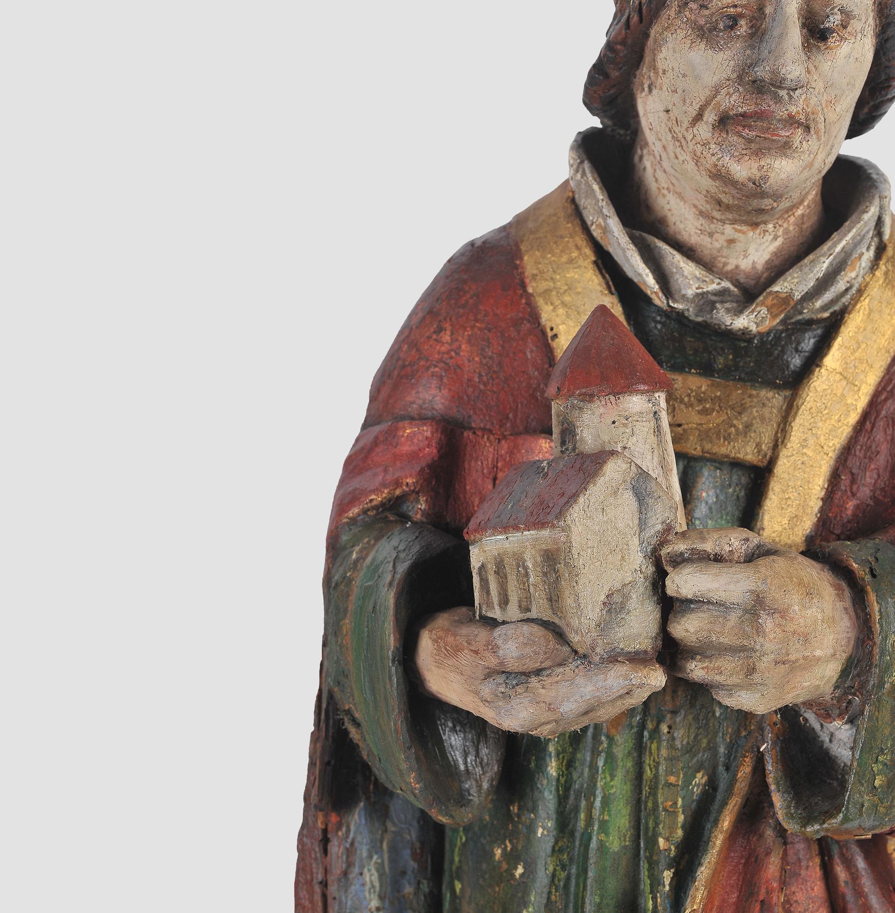 Heiliger Wolfgang, Salzburg, um 1480 - Image 2 of 3