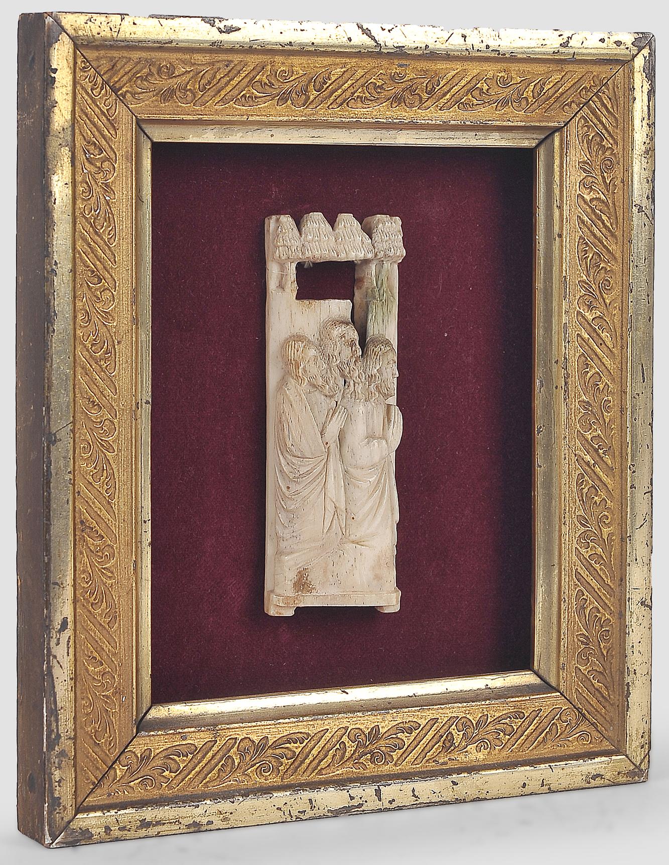 Relief Plakette, Werkstatt der Embriarchi?, um 1400/30 - Image 3 of 4