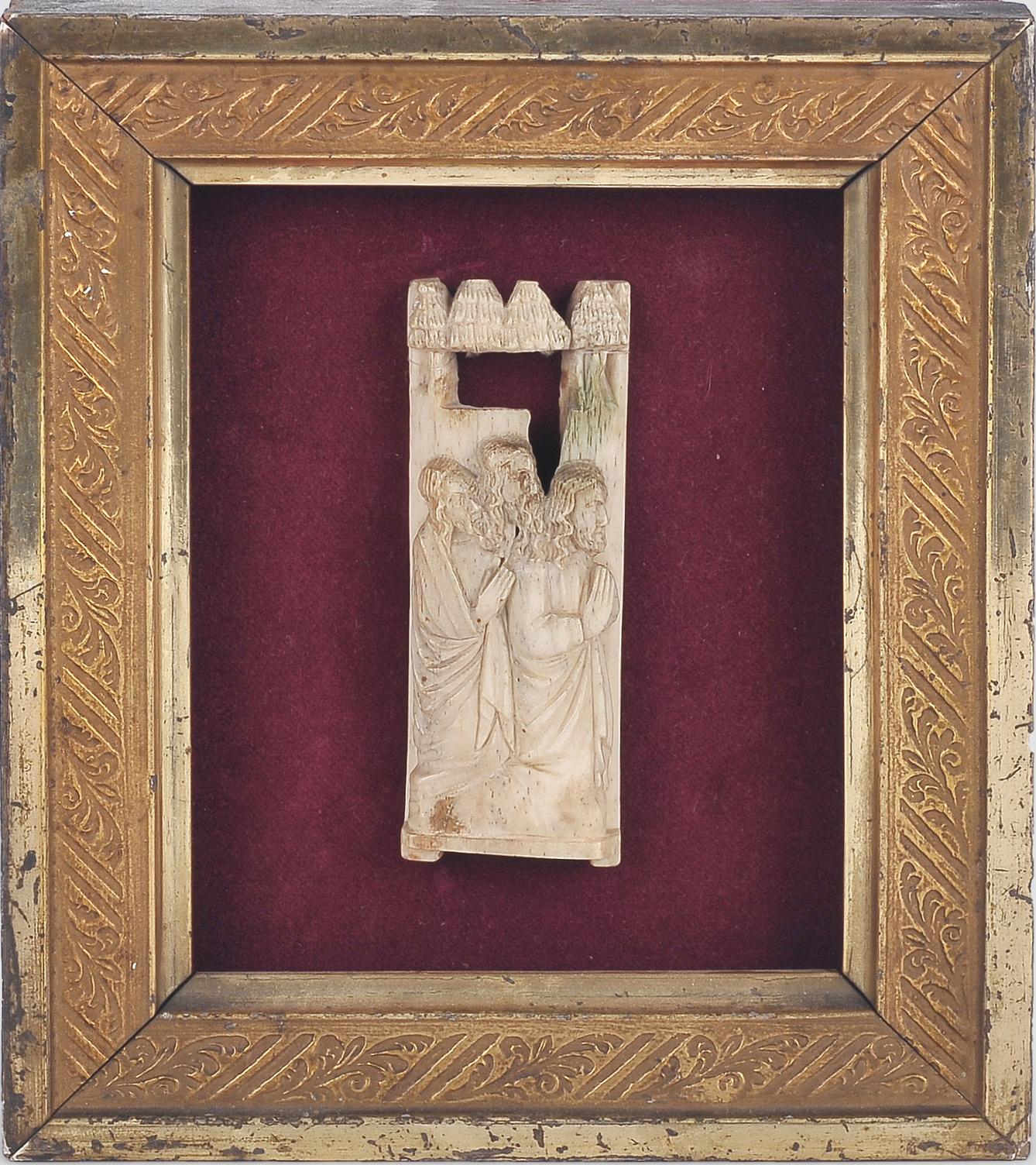 Relief Plakette, Werkstatt der Embriarchi?, um 1400/30 - Image 2 of 4