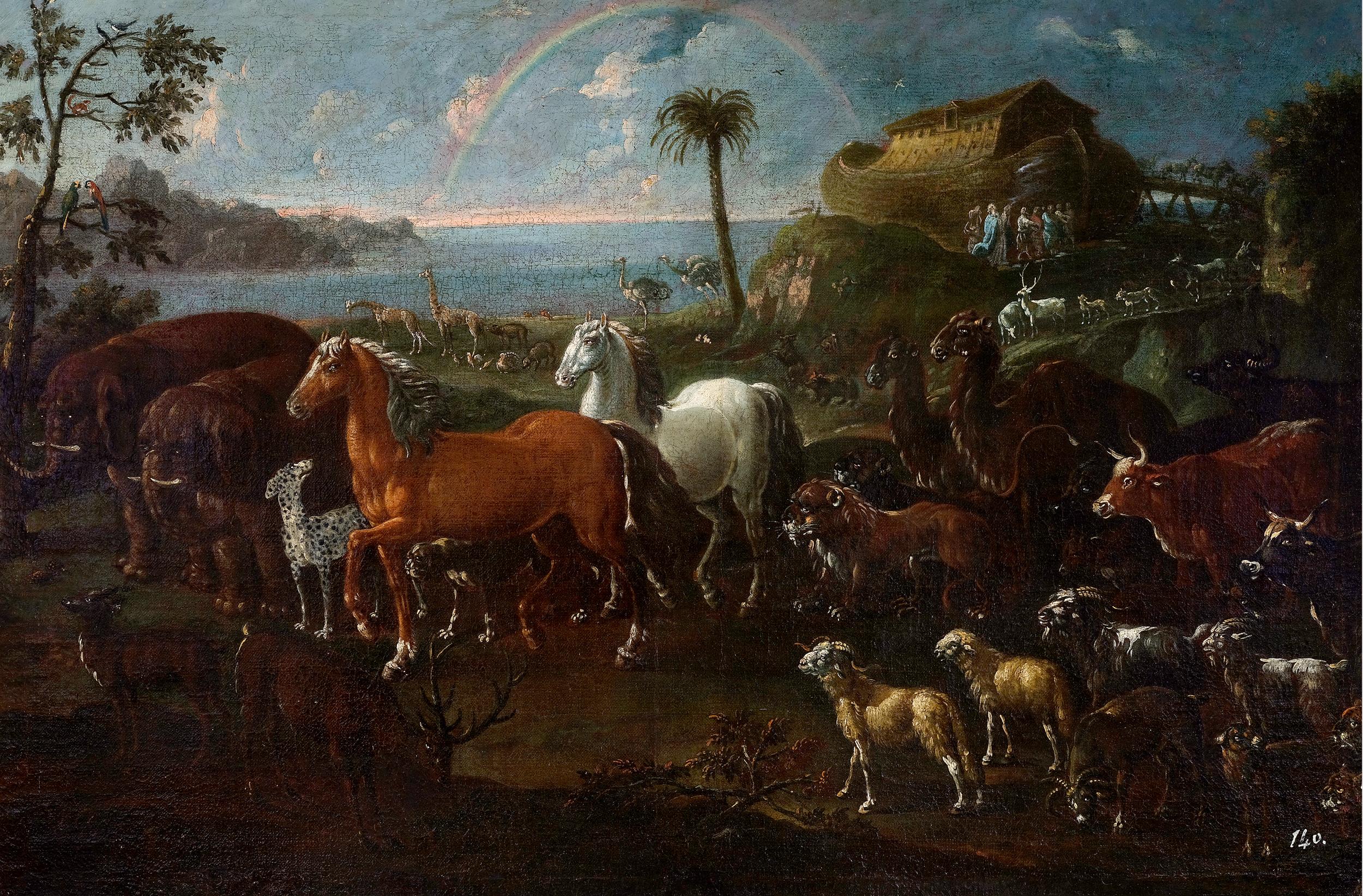 Cajetan Roos, detto Gaetano de Rosa, Rom 1690 – 1770 Wien, Arche Noah