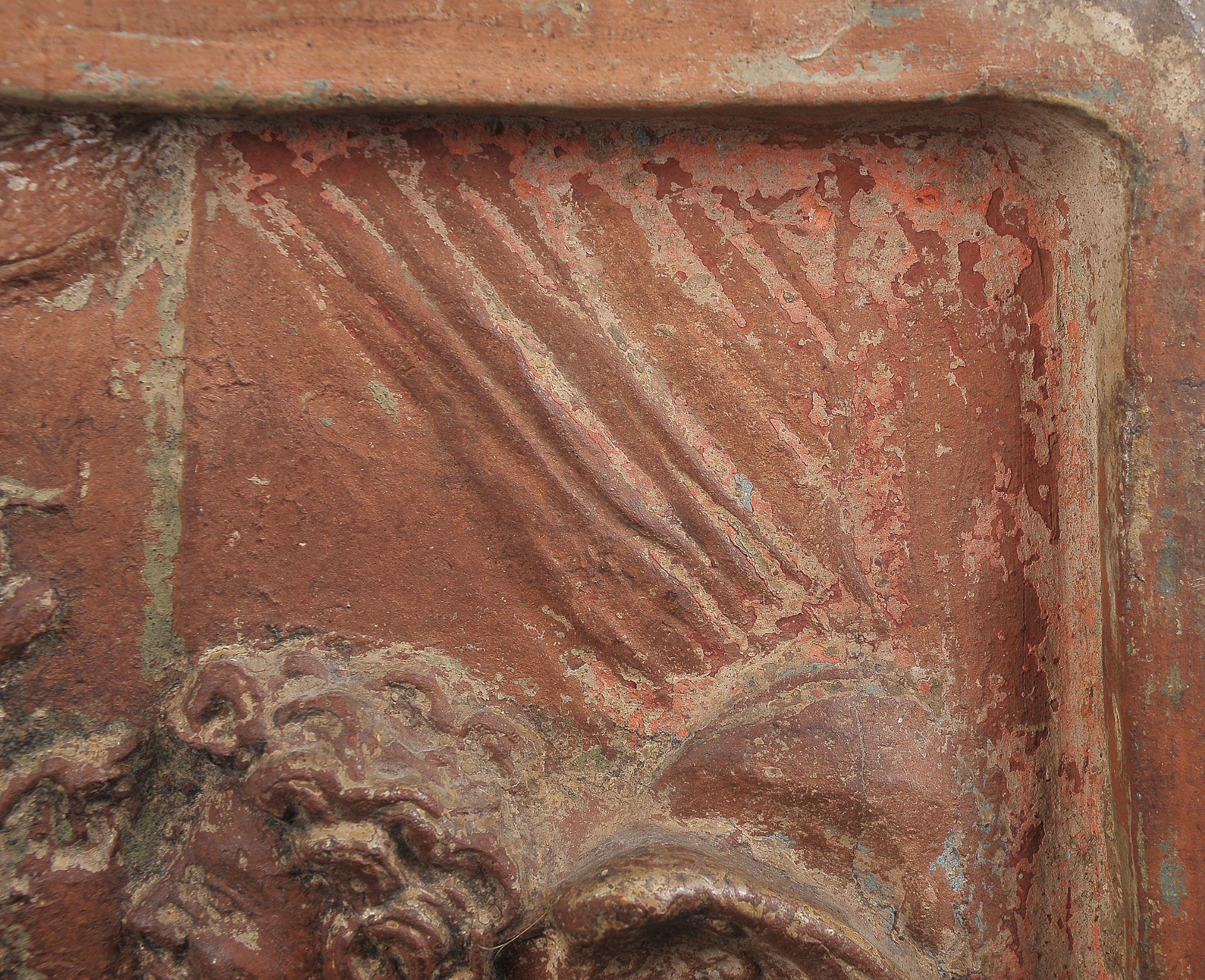 Terracotta Relief, Verkündigung Mariä - Image 2 of 9