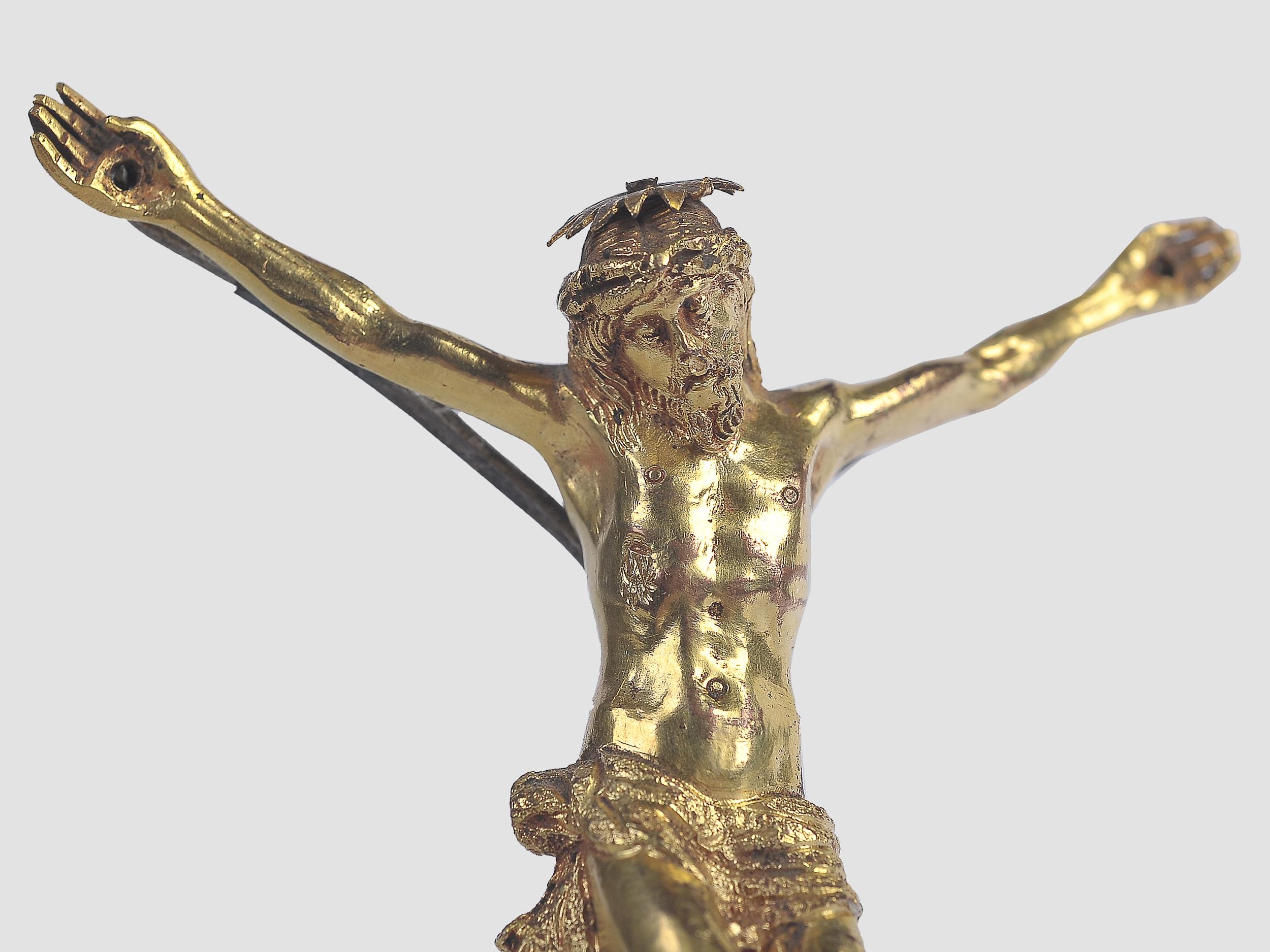 Corpus Christi, Süddeutsch oder Italien, 17. Jahrhundert, Bronze - Image 4 of 5