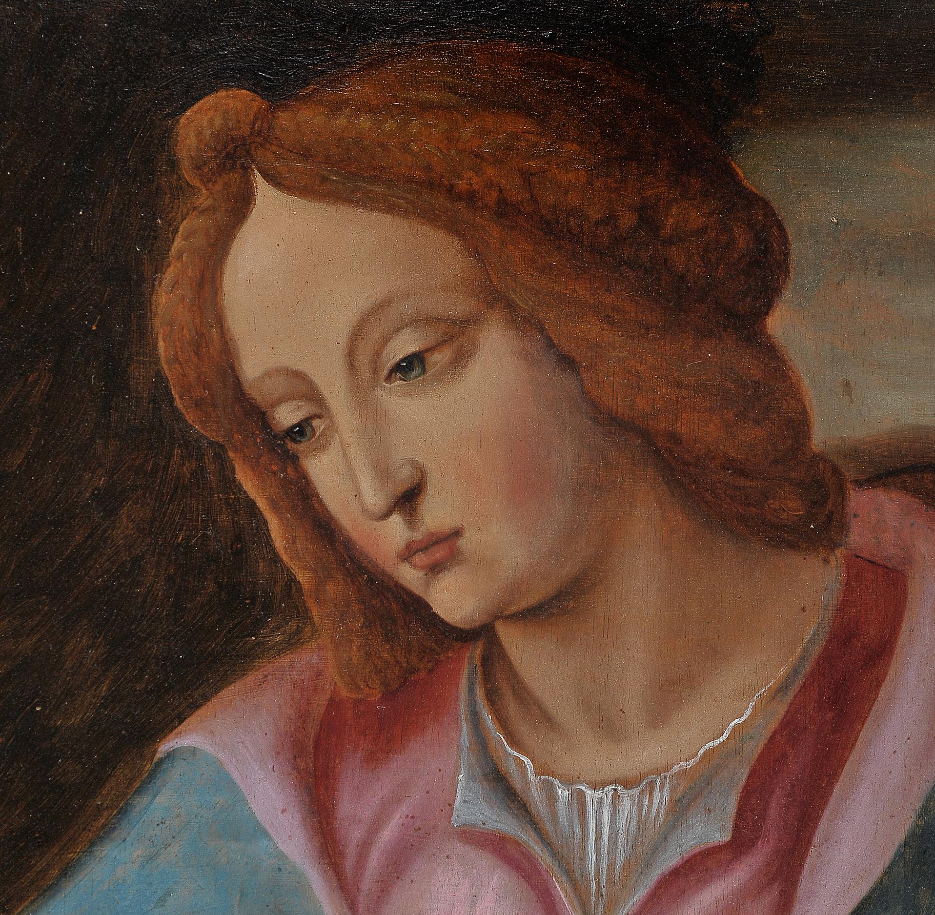 Madonna, Gemälde, 17. Jhdt. - Image 5 of 7